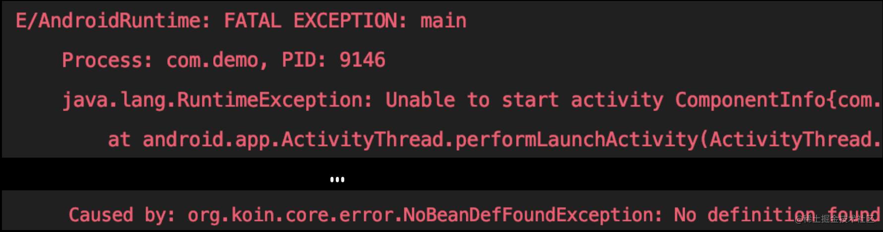 Koin throws an exception when a factory for CompositeAdapter is missing