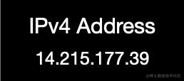 IPv4地址