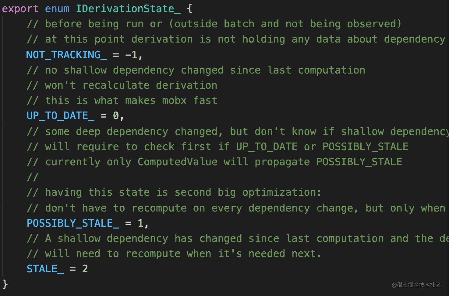 mobx state